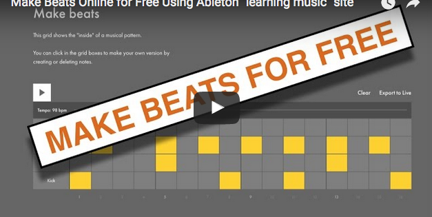 make a music website for free